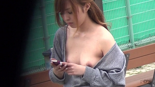 Windy Day Is Perfect For Nipple Slipping
